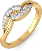 BlueStone The Keyla Yellow Gold Diamond 14 K Ring