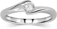 Kama Jewellery Desiree Solitaire Engagement Platinum Diamond Platinum 24 (995) K Ring