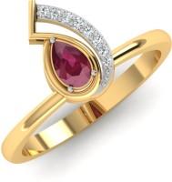 Caratify Zandra Yellow Gold Diamond Yellow Gold 14 K Ring