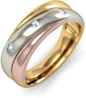BlueStone The Eternal Serenade Yellow Gold Diamond 14 K Ring