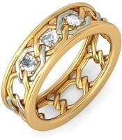 BlueStone The Ciara For Him Gold Diamond 18 K Ring