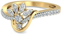 WearYourShine By PCJ The Kvetina Diamond Gold Diamond 18K Yellow Gold 18 K Ring
