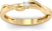 WearYourShine By PCJ The Naveah Diamond Gold Diamond 18K Yellow Gold 18 K Ring