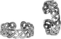 Abhooshan Sterling Silver Sterling Silver Toe Ring Set