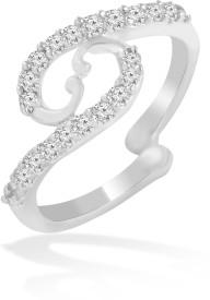 Jewelscart.in Brass Rhodium Ring