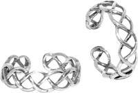 Abhooshan Sterling Silver Sterling Silver Plated Toe Ring Set - RNGEFNWYYHAYWYZK
