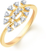 Karatcraft Boat Yellow Gold Diamond 18 K Ring