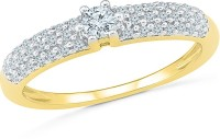 Radiant Bay Radiant Love Yellow Gold Diamond 14 K Ring