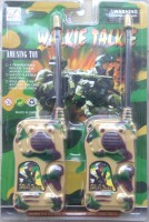 New Pinch Army Walkie Talkie Set For Kids (color May Vary)