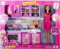 RREnterprizes Barbie Vogue Beauty Kitchen For Kids In Multi Color
