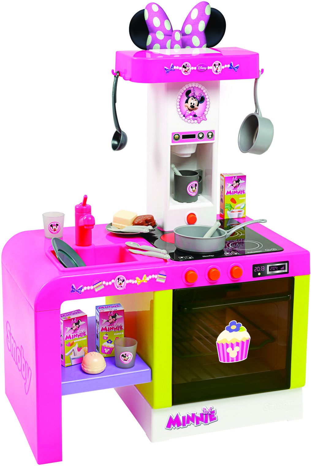 Smoby Minnie Cheftronic Kitchen  Minnie Cheftronic   -> Kuchnie Zabawkowe Tefal