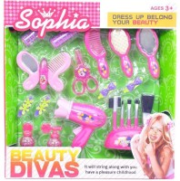 Sophia Fashion Beauty Set With Hair Dryer & Accessories