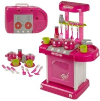 Littlegrin Battery Operated Portable Kitchen Set (color May Vary)