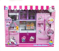 ToyTree Hello Kitty 3 Set Of Kitchen Set With Lights And Sound (color May Vary)