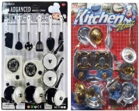 New Pinch Combo Of Kitchen Set For Kids (color May Vary)
