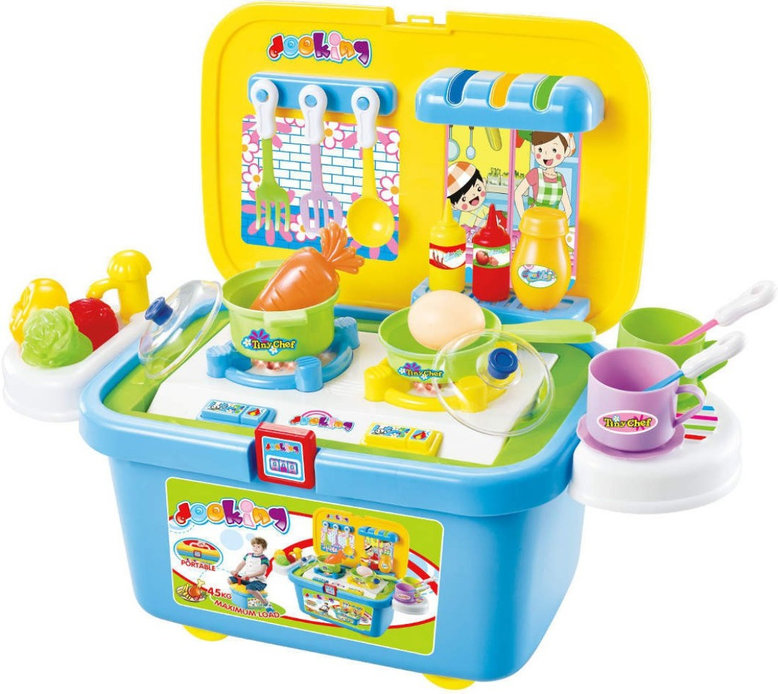 Happy Kids Real Action Kitchen Play Set Available At