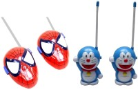 New Pinch Combo Of Red & Blue Walkie Talkie For Kids