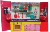 New Pinch My Sweet Kitchen Set With Light & Sound Toy Gift For Kids (color May Vary)