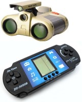 New Pinch Binocular With HAND HELD FUN BRICK GAME SET FOR KIDS (color May Vary)