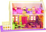 Toyzone Dolls & Doll Houses Toyzone My Little Doll House