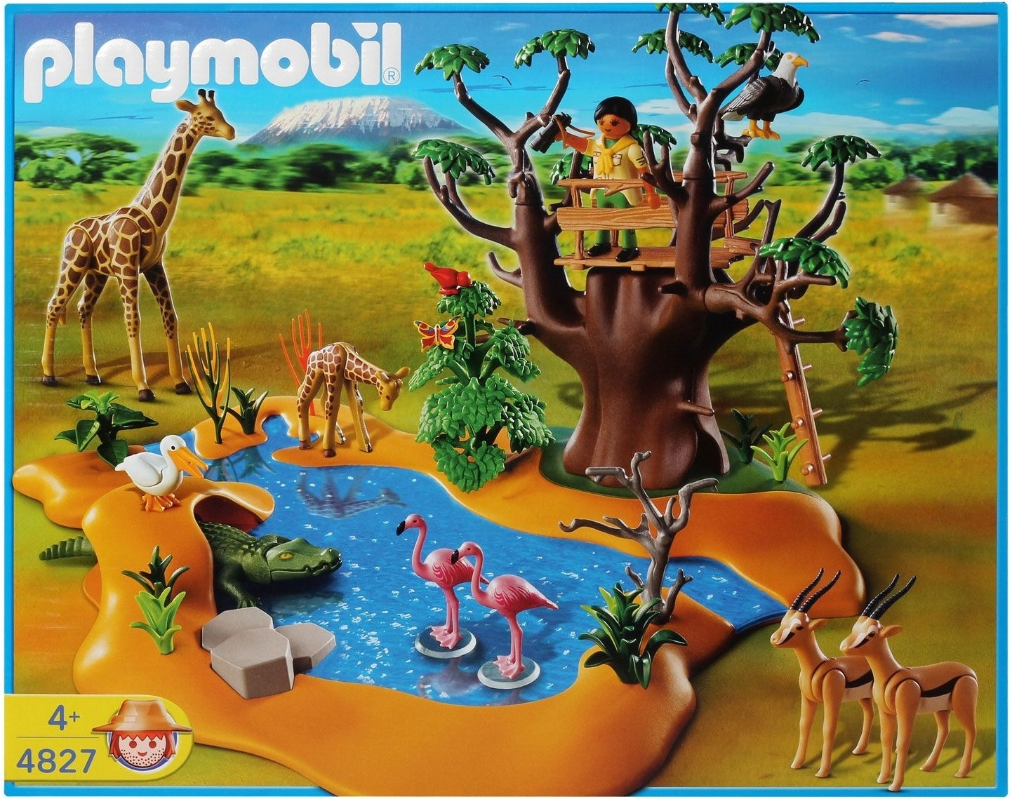 playmobil wild life waterhole wild life waterhole shop for playmobil products in india toys. Black Bedroom Furniture Sets. Home Design Ideas