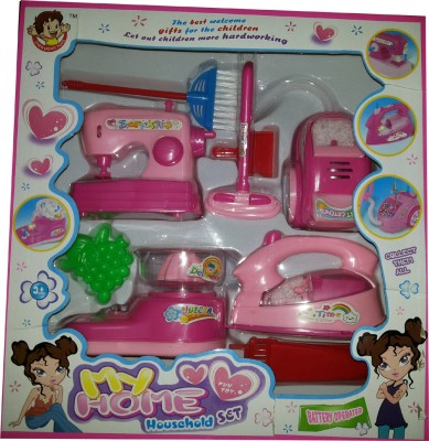 Toyzstation Role Play Toys Toyzstation Household Set