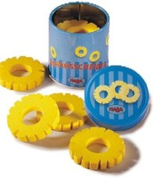 HABA Wooden Pineapple Slices In Tin (Made In Germany)
