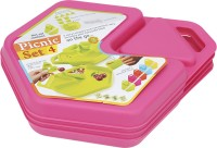 Tuelip All In One 12 Pcs Picnic Set-Pink (color May Vary)