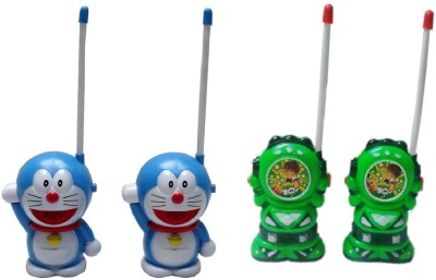 New Pinch Role Play Toys New Pinch Combo Of Blue Walkie Talkie & Green walkie talkie for kids