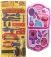 New Pinch Multicolor Work Tool Set With Fashion Beauty Set For Kids