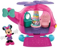 Fisher-Price Disney Minnie Mouse Flyin' Style Helicopter (color May Vary)
