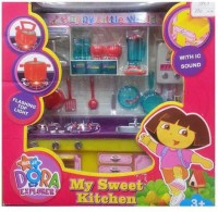 ReyHawk Kitchen Set Nick JR DORA The EXPLORER Sound & Flashing (color May Vary)