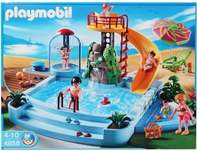 Playmobil Pool With Water Slide Pool With Water Slide Shop For Playmobil Products In India
