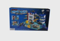 LUDUS Police Station Play Set