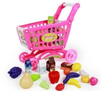 Bohui 46 Accessories Supermarket Shopping Cart (color May Vary)