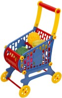 I-Gadgets Mini Supermarket Cart With 12 Vegetable And Fruit