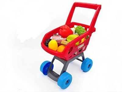 Jaibros Super Fun Mini Shopping Cart Trolley With 22 Accessories