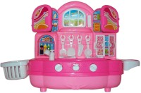 Treasure Box Kids Kitchen Set (Pink) (color May Vary)