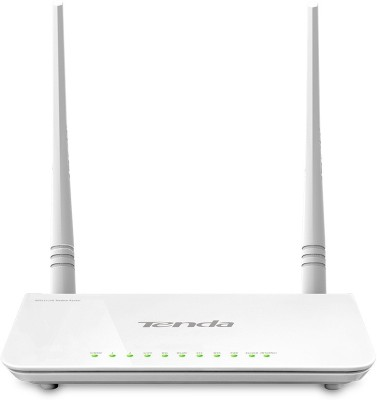 Tenda TE D-303 N300 ADSL2+ Modem Router with USB port (White)