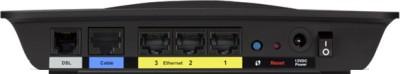 Linksys X1000 - N300 Wireless Router with ADSL2 + Modem (Black)