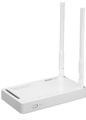 Toto Link ND300 Wireless N ADSL2/2 Modem 300 Mbps Router (White)