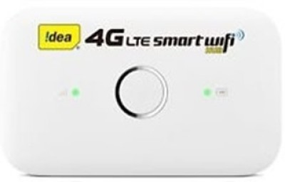 Idea Huawei E5573s-606 4G Wifi Router Support Only 2g/3g/4g Simcards (White)