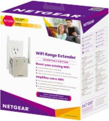 Netgear EX6120 AC1200 Mbps Wi-Fi Range Extender (White)