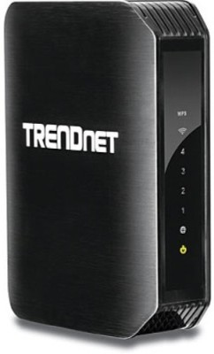 TRENDnet N600 Dual Band Wireless Router (Black)