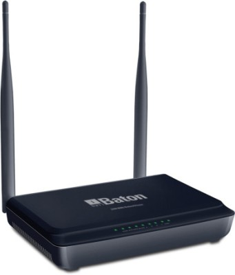 iBall 300M MIMO Wireless-N Router - iB-WRB300N (Black)