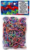Choon's Design Official Rainbow Loom Assorted Tie Dye Colors- 600 Pcs Count Bands Rubber Band