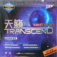 Friendship Transcend Cream (Pimples In) Max Table Tennis Rubber (Black)