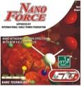 GKI Nano Force Max Table Tennis Rubber - Black