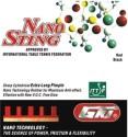 GKI Nano Sting 1 Mm Table Tennis Rubber - Red