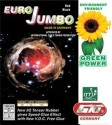 GKI Euro Jumbo Rubber Max Table Tennis Rubber - Red